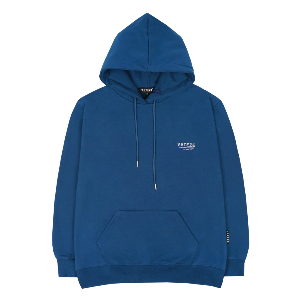 Reflective Logo Hood (Deep Blue)