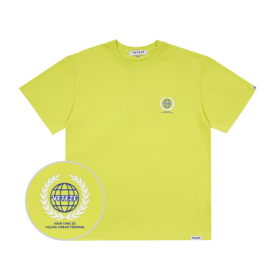 [바캉스 기획전]Earth Logo Campaign T-Shirts (Neon)