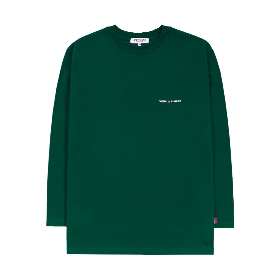 [New Color] Time Long Sleeve (green)