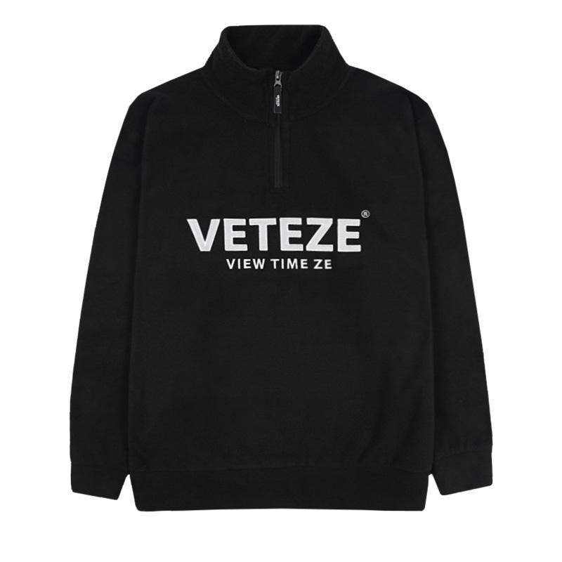 [예약주문/10월4일 발송]Basic Fleece Pullover (black)