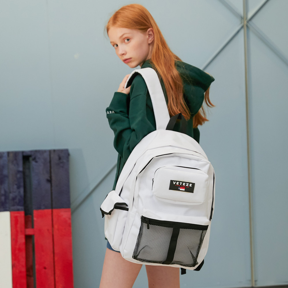 [New Color] Retro Sport Bag (white)