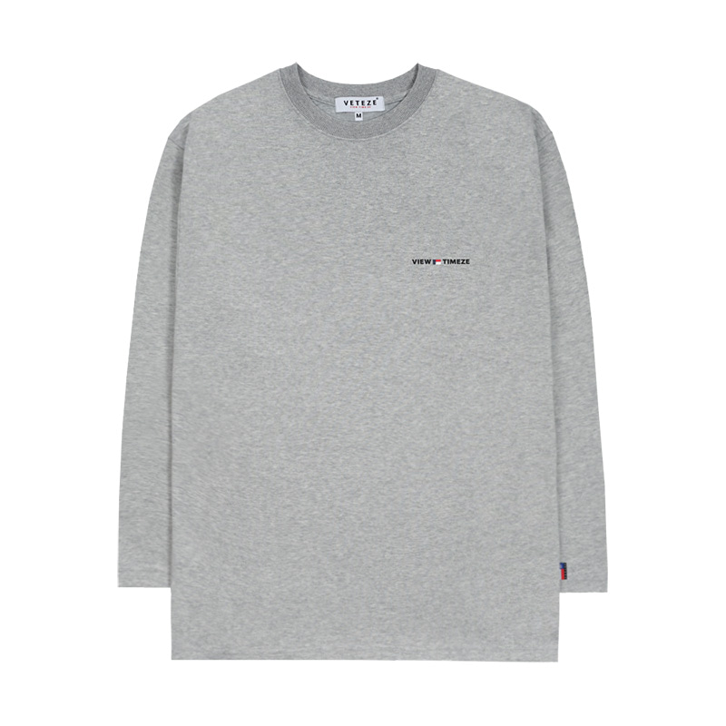 [New Color] Time Long Sleeve (gray)