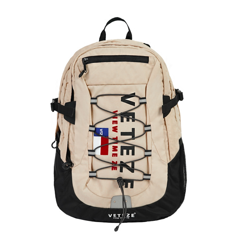 Big Logo Backpack (beige)