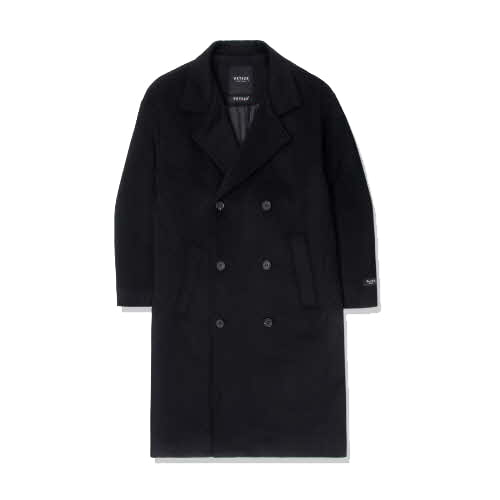 Heavy Wool Over Coat (black)(VB4CT001H)