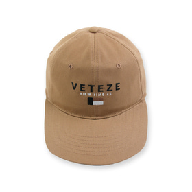 6 PANEL CAP (deep beige)