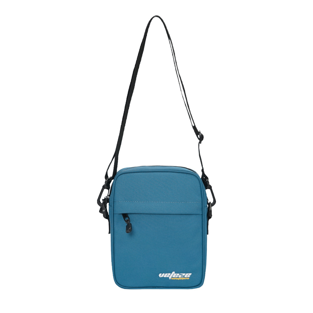 True Up Mini Cross Bag (Steel Blue)