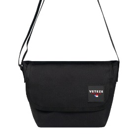 [바캉스 기획전]Retro Mini Cross Bag (Black)