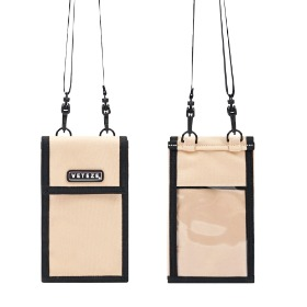 [바캉스 기획전]Folder Multi Mini Bag (Beige)