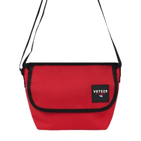 [바캉스 기획전]Retro Mini Cross Bag (Red)