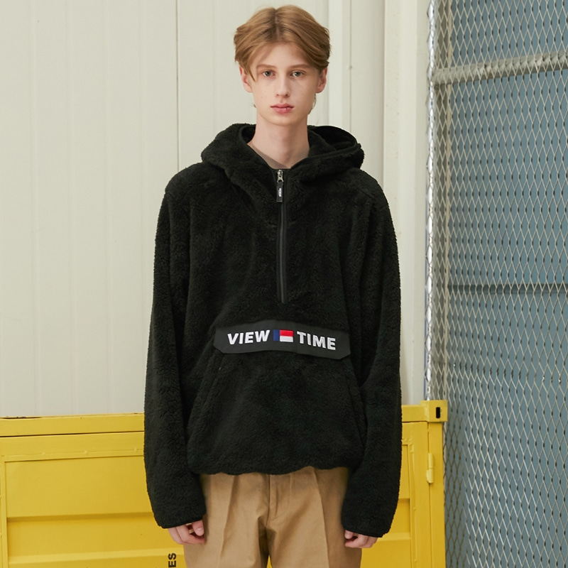Time Anorak (black)