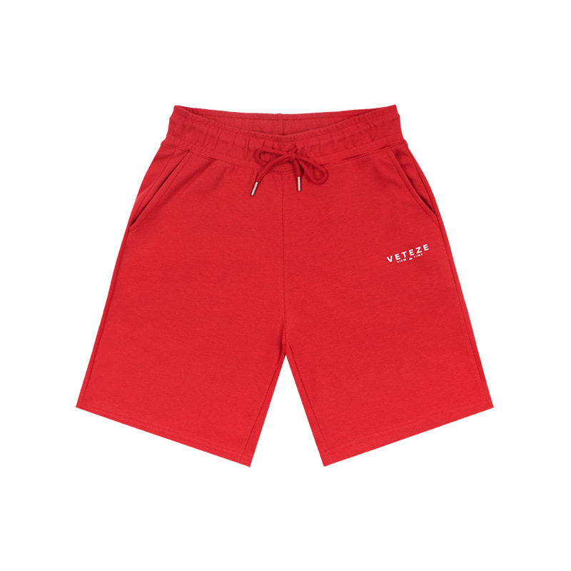 Signature Logo Shorts (red)