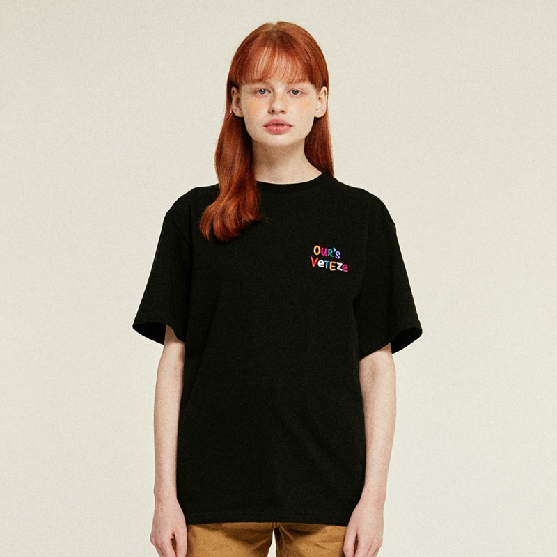 Our's Half T-Shirts (black)