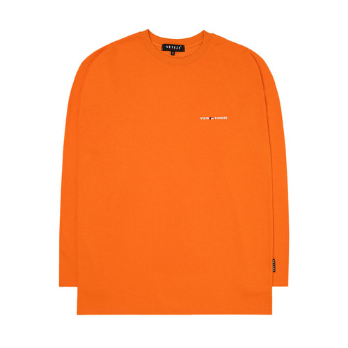 Time Long Sleeve (orange)