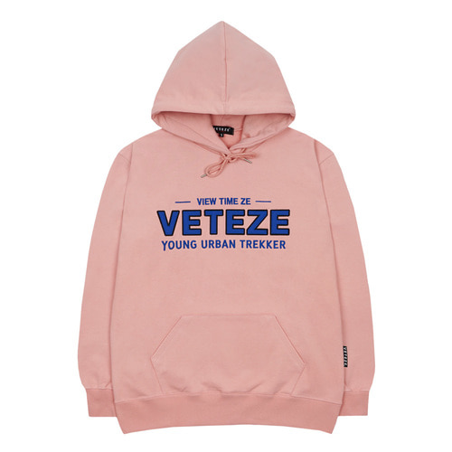 Authentic Logo Hood (Indi Pink)
