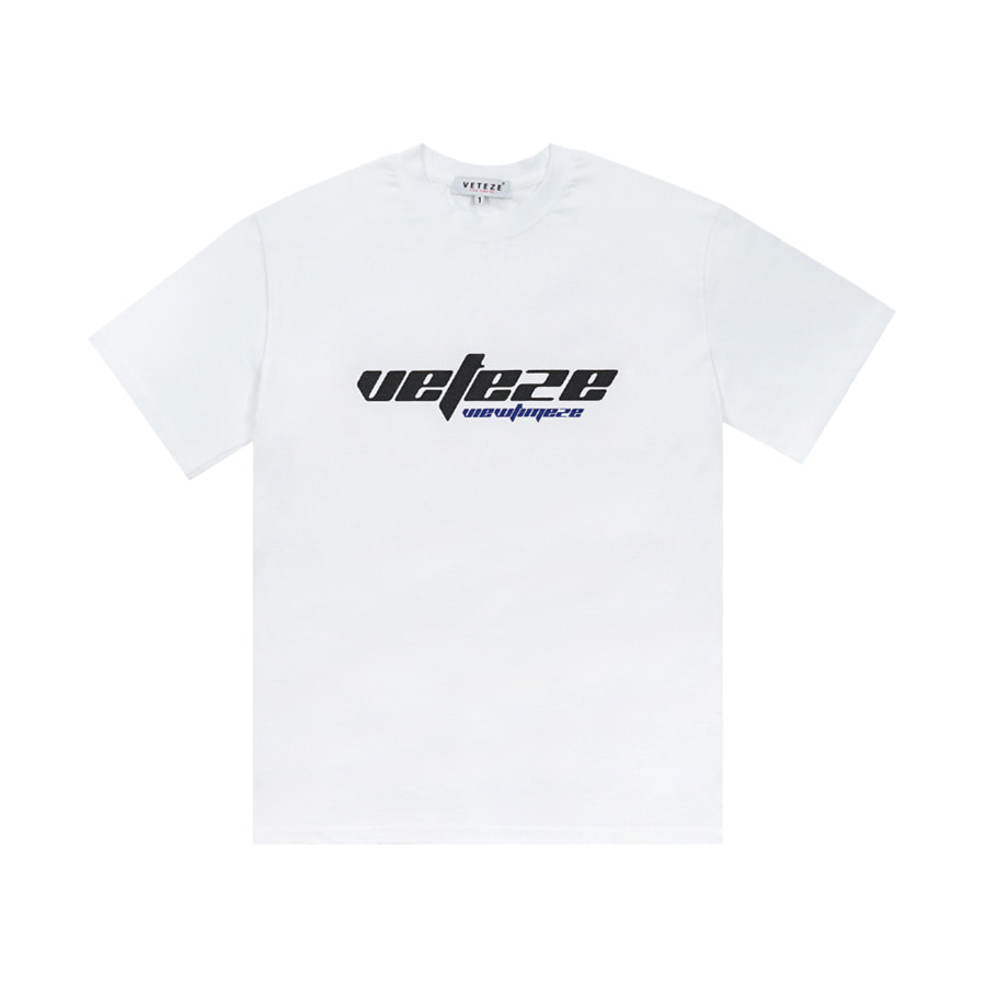 True Up Half T-Shirt (White)