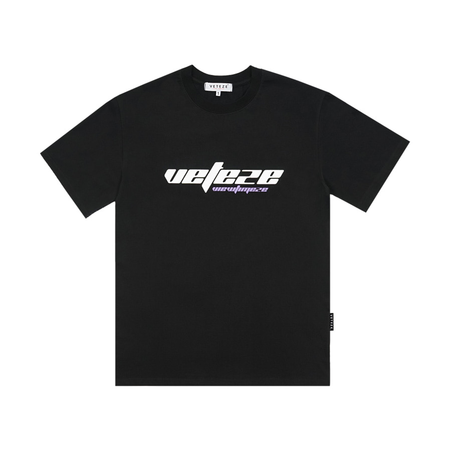 True Up Half T-Shirt (Black)