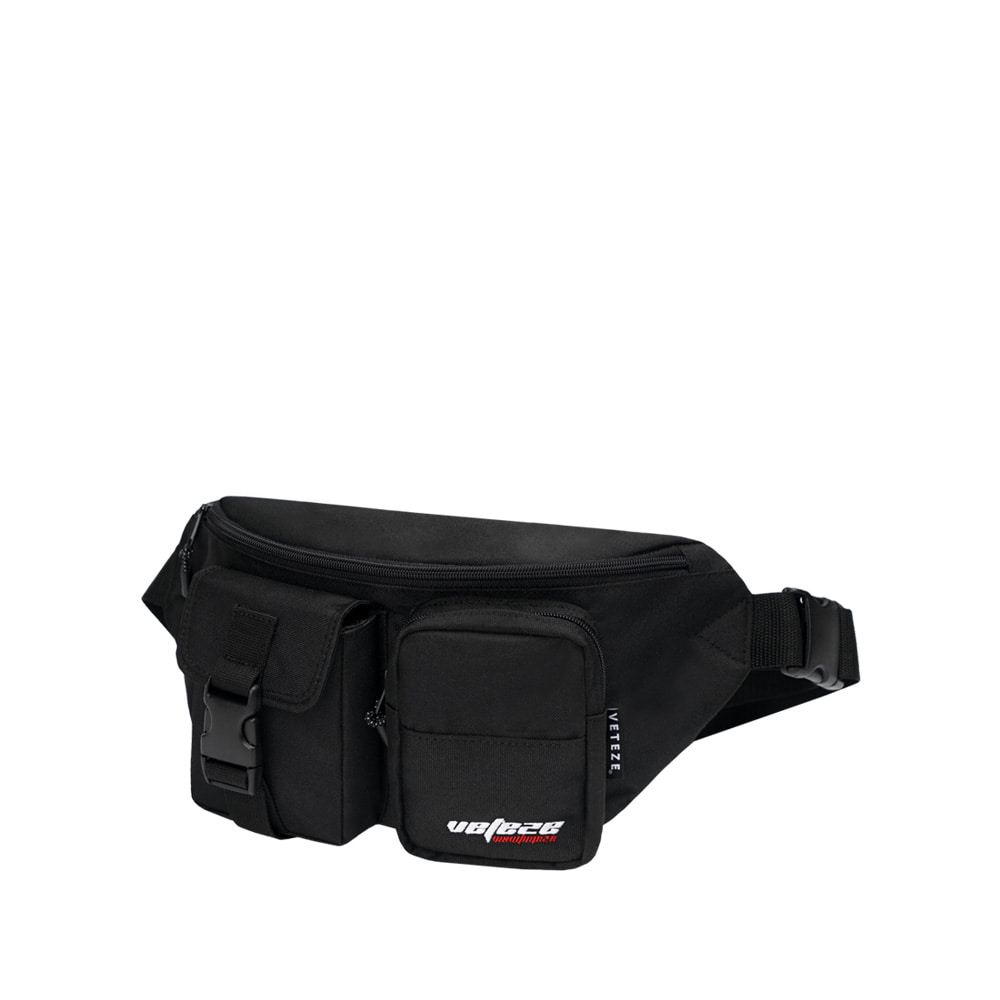 True Up Waist Bag (Black)