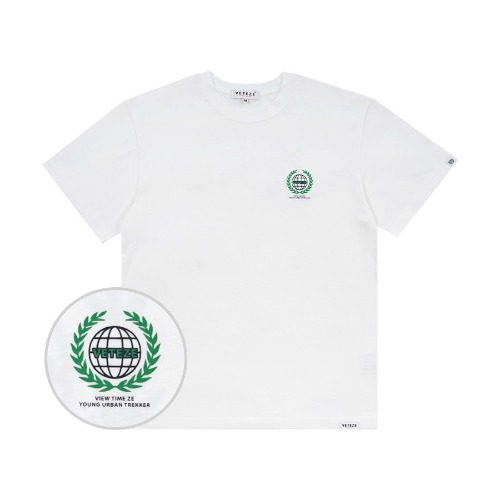 [바캉스 기획전]Earth Logo Campaign T-Shirts (White)