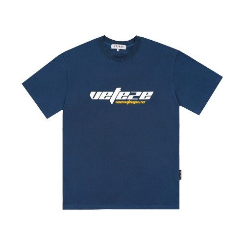 [4차 리오더]True Up Half T-Shirt (Deep Blue)