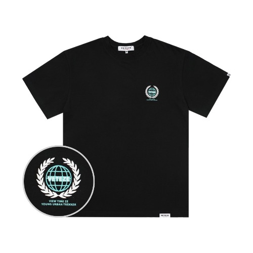 [바캉스 기획전]Earth Logo Campaign T-Shirts (Black)