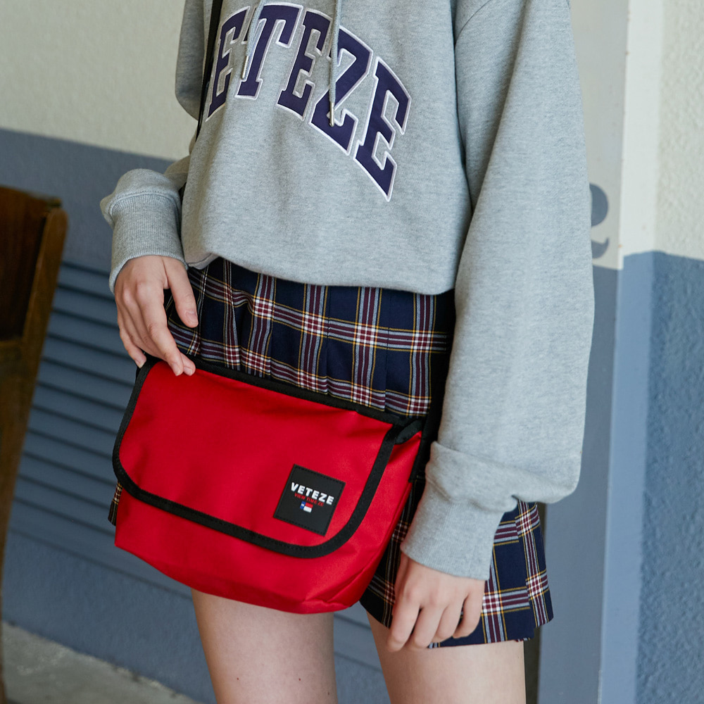 Retro Mini Cross Bag (red)