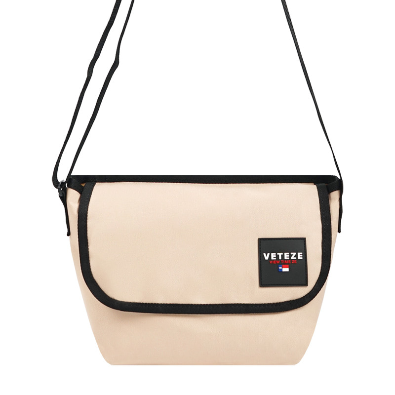 Retro Mini Cross Bag (beige)